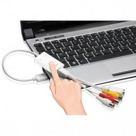 MyGica iGrabber Nano USB Video Capture for Mac & PC - White - 3
