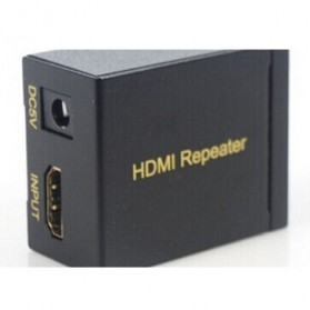 Saintholly HDMI Repeater 30m with 3D Support - ST-R30 - Black