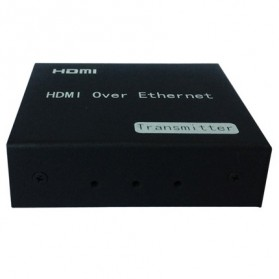 Saintholly HDMI Extender by Single Cat5e/6/7 Cable 150m with IR - ST-S150 - Black