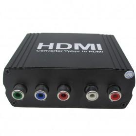 Saintholly YPbPr to HDMI Converter - Black