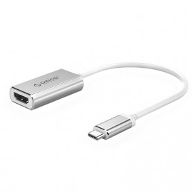 Orico Kabel Adapter Converter USB Type C to HDMI 4K 15cm - XC-101 - Silver - 1