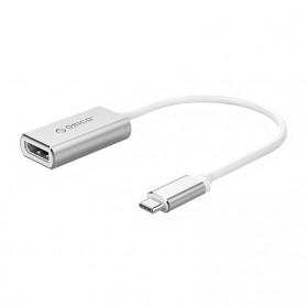 Orico Kabel Adapter Converter USB Type C to DP 4K 15cm - XC-103 - Silver - 1