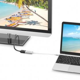 Orico Kabel Adapter Converter USB Type C to DP 4K 15cm - XC-103 - Silver - 5