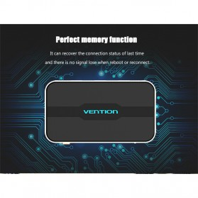 Vention HDMI Switcher 5 Port Full HD 4K with Remote Control - Golden - 9