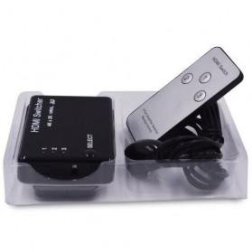 HDMI Switcher 3 Port 4K x 2K MHL 3D with Remote - AYS-31V14 - Black - 3