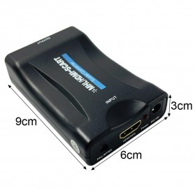 Portable HDMI to SCART Video Converter 1080P - Black - 5