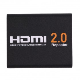 HDMI 2.0 Repeater Extender 4K 60Hz - Black