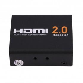 HDMI 2.0 Repeater Extender 4K 60Hz - 8076 - Black - 2