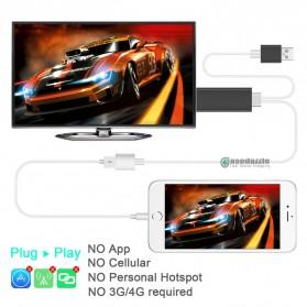 Kabel AV Adapter USB Male/Female Port to HDMI - Black - 2