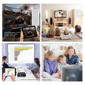 Kabel AV Adapter USB Male/Female Port to HDMI - Black - 4