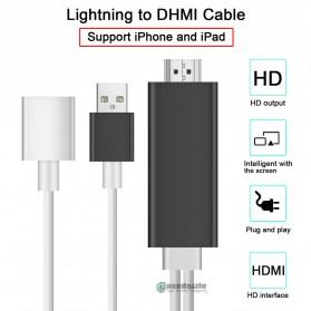Kabel AV Adapter USB Male/Female Port to HDMI - Black - 6