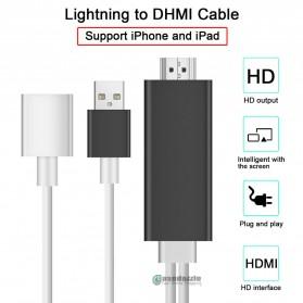 Kabel AV Adapter USB Male/Female Port to HDMI - Black - 10