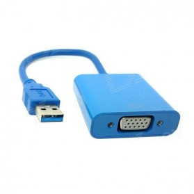 USB 3.0 to VGA Display Adapter - Blue