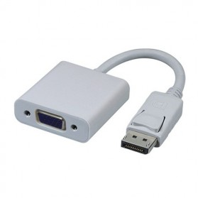Taffware Kabel Adapter Displayport ke VGA - TSR580 - White