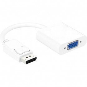 Taffware Kabel Adapter Displayport ke VGA - TSR580 - White - 4