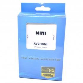 Konverter Video AV ke HDMI - HDV-M610 - White - 5