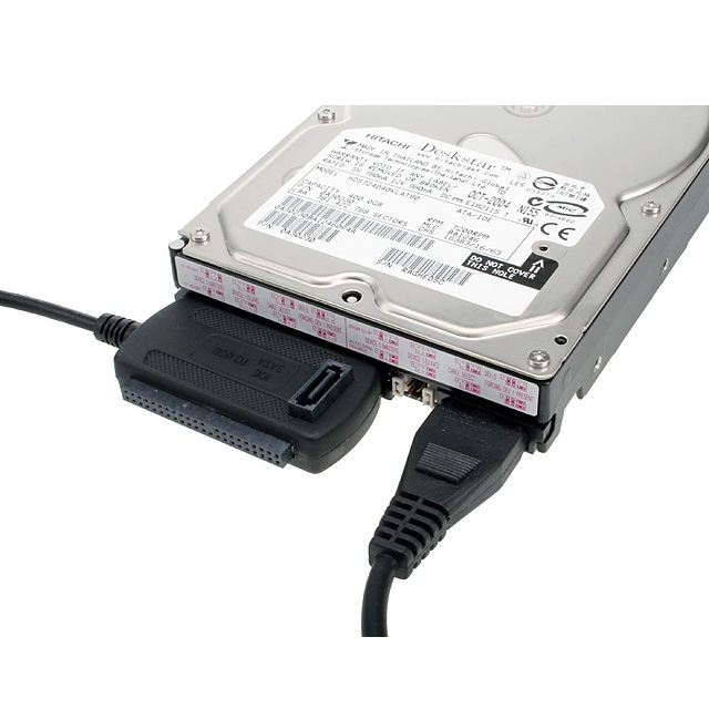 ... Kabel Adapter USB ke IDE SATA - Blue - 3 ...