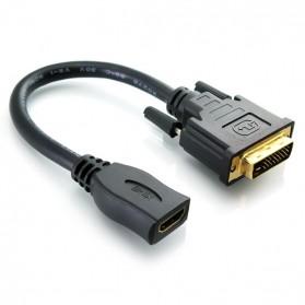 HDMI Female to VGA Video Adapter - Black