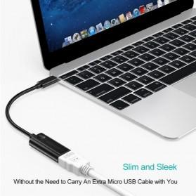 CHOETECH Kabel Adapter Converter USB Type C 3.1 to HDMI 4K - HUB-H04 - Black - 5