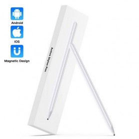 SUNTAIHO Stylus Capacitance Touch Apple Pencil for iPad iPhone - Pencil-01 - White