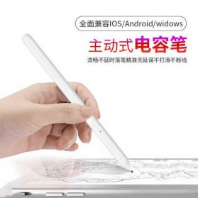 SUNTAIHO Stylus Capacitance Touch Apple Pencil for iPad iPhone - Pencil-01 - White - 2