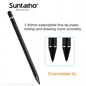 SUNTAIHO Stylus Capacitance Touch Apple Pencil for iPad iPhone - Pencil-01 - White - 6
