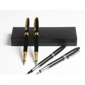 BAOER Pena Pulpen Tanda Tangan Tinta Fountain Pen Ballpoint 1 PCS - 3035 - Golden