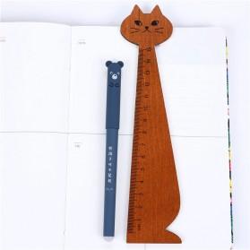 Zuixua Pena Pulpen Gel Pen 0.35mm 4PCS - M123 - Multi-Color - 5
