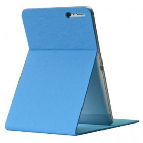 Stand Leather Case for Ainol Novo 7 Numy AX1 - Baby Blue - 3