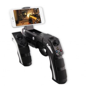Ipega The Son of Phantom Shox Blaster Bluetooth Gun Gamepad for Smartphone - PG-9057 - Black