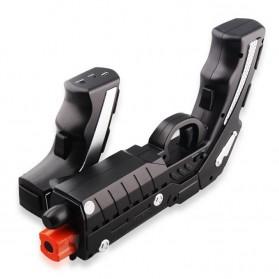 Ipega The Son of Phantom Shox Blaster Bluetooth Gun Gamepad for Smartphone - PG-9057 - Black - 3