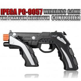 Ipega The Son of Phantom Shox Blaster Bluetooth Gun Gamepad for Smartphone - PG-9057 - Black - 6