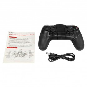 Ipega  Bluetooth Gamepad with Turbo Function - PG-9077 - Black - 4