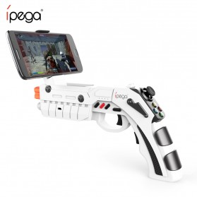 Ipega AR Gaming Gun Bluetooth Gamepad for Smartphone - PG-9082 - White - 2