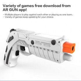 Ipega AR Gaming Gun Bluetooth Gamepad for Smartphone - PG-9082 - White - 8
