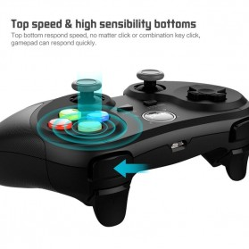 Ipega Universal Bluetooth Game Controller for Smartphone - PG-9078 - Black - 4