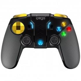 Ipega Gold Warrior Bluetooth Gamepad Controller PUBG ML for Smartphone - PG-9118 - Black - 2