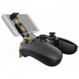 Ipega Gold Warrior Bluetooth Gamepad Controller PUBG ML for Smartphone - PG-9118 - Black - 3