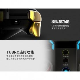 Ipega Gold Warrior Bluetooth Gamepad Controller PUBG ML for Smartphone - PG-9118 - Black - 7