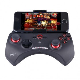 Ipega Mobile Wireless Gaming Controller Bluetooth 3.0 for Apple and Tablet PC with Multimedia Keys - PG-9025 - Black - 1