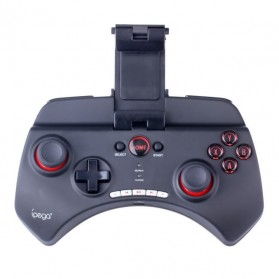 Ipega Mobile Wireless Gaming Controller Bluetooth 3.0 for Apple and Tablet PC with Multimedia Keys - PG-9025 - Black - 2