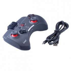 Ipega Mobile Wireless Gaming Controller Bluetooth 3.0 for Apple and Tablet PC with Multimedia Keys - PG-9025 - Black - 7