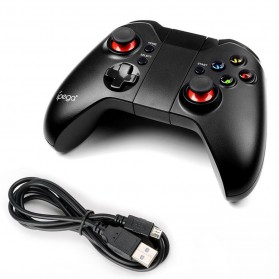 Ipega Classic Bluetooth Game Controller for Smartphone and Tablet - PG-9037 - Black - 7