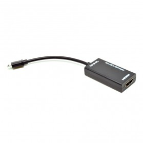 VZTEC Micro USB 5 pin to HDMI Cable 20Cm - VZ-MH1203 - Black