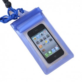 Waterproof Bag for Smartphone Length 18cm - YF-190-100 - Pacific Blue