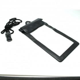 Waterproof Bag for Smartphone Length 18cm - YF-190-100 - Black