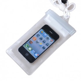 Waterproof Bag for Smartphone Length 18cm - YF-190-100 - White