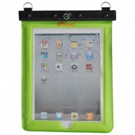 Tablet Casing / Softcase / Hardcase - Bingo Waterproof Bag for iPad 1/2/3/4 - WP082 - WP085 - Green