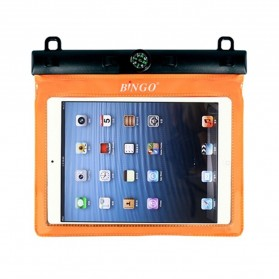 Bingo Waterproof Bag for iPad Mini - WP086 - WP089 - Orange - 1
