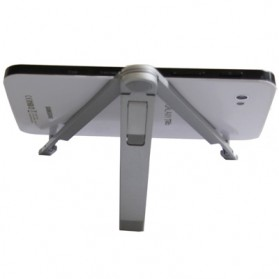 SIFREE Tripod Mobile Stand for iPad/ Galaxy Tab/ 7-10inch MID/ Tablet PC - RV77 - Silver - 2